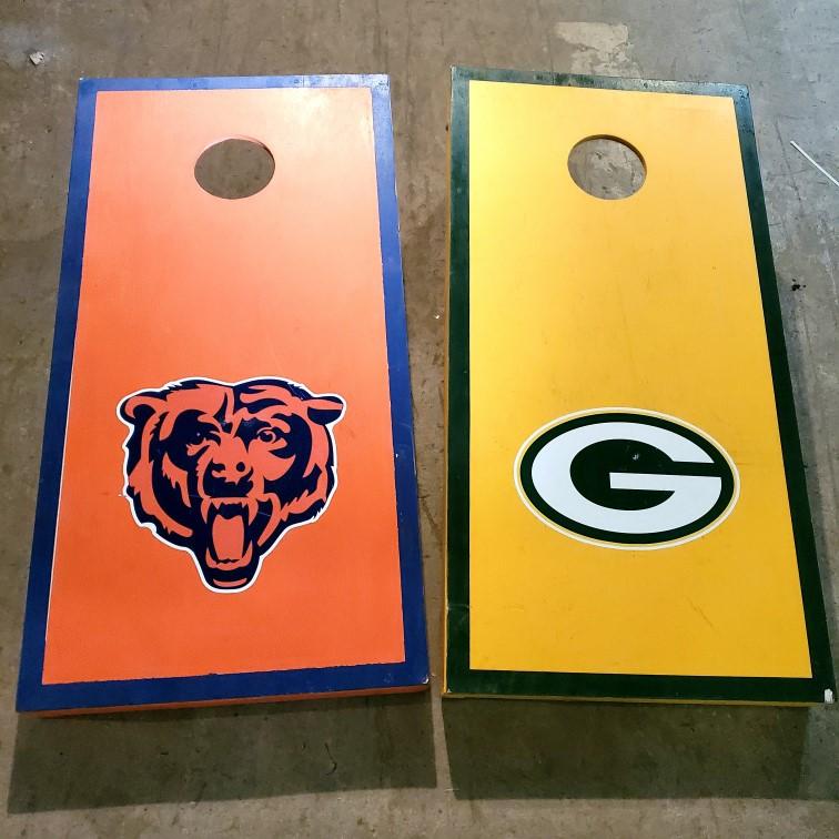 Baggo, Packers vs Bears