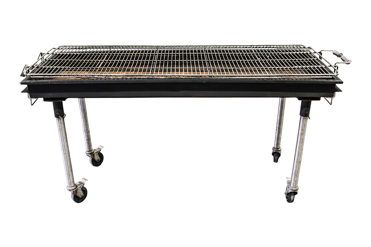 Flatbed Charcoal Grill