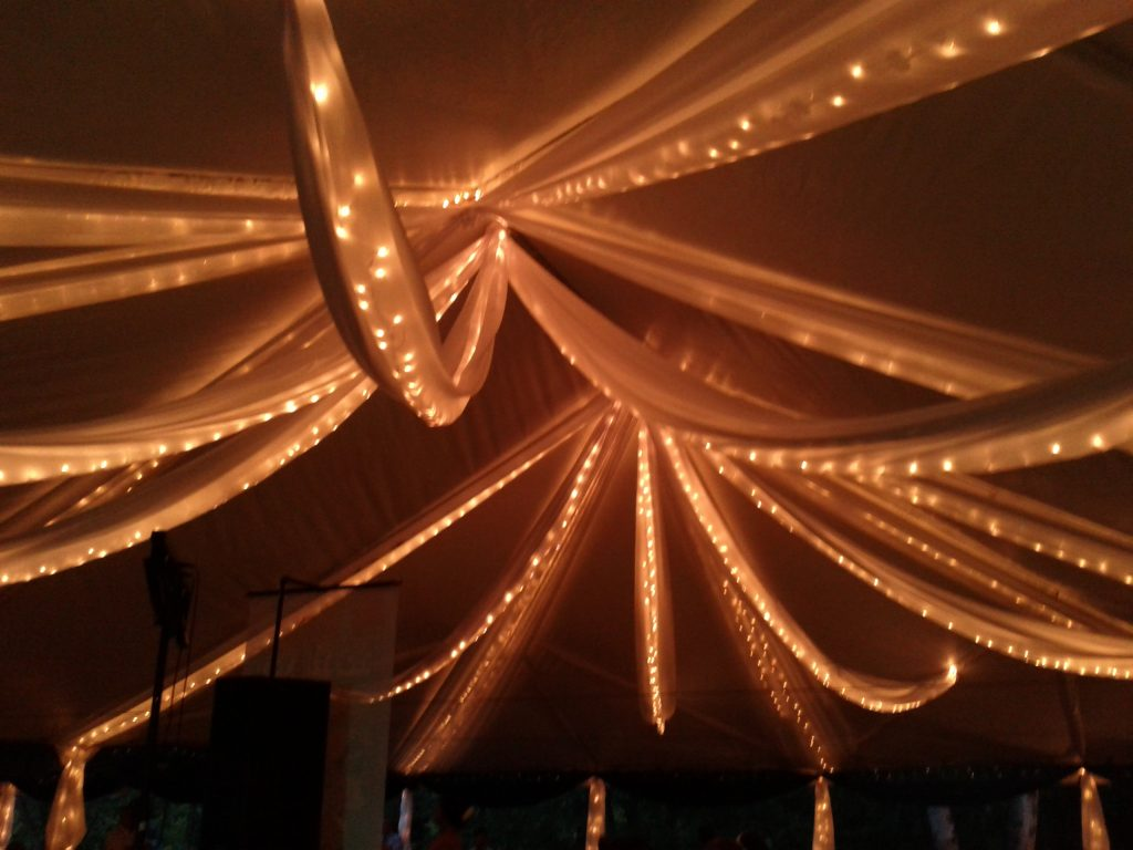 String Lights with Fabric (1)